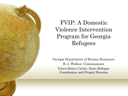 FVIP: A Domestic Violence Intervention Program for …
