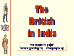 British Imperialism in India PPT