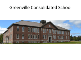 Greenville Consolidated School