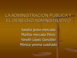 EL CONCEPTO DE ADMINISTRACION PUBLICA EN …