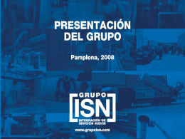 Diapositiva 1 - ISN