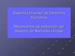 Sistema de Naciones Unidas