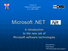 Introducing Microsoft .NET