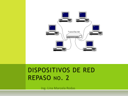 DISPOSITIVOS DE RED