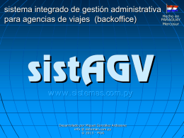 sistAGV