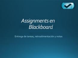 Uso de Assignment