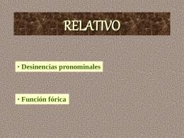 POSESIVOS - losdelatin