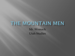 The Mountain Men - Weber School District