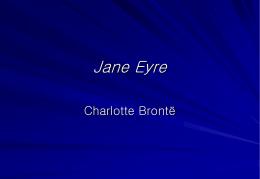 Jane Eyre - Coleg Cymoedd