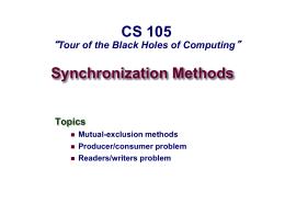 Dynamic Memory Allocation I