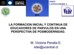 LA FORMACION INICIAL Y CONTINUA DE EDUCADORES …