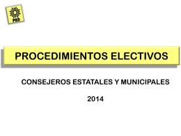 PROCEDIMIENTOS ELECTIVOS