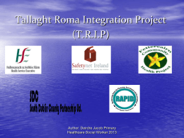Challenging Perceptions: Working with Roma
