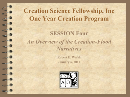 Fifth International Conference on Creationism