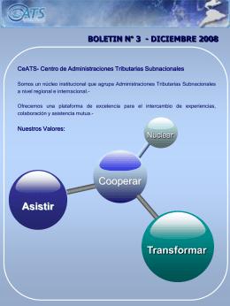 Diapositiva 1 - CeATS. Centro de Administraciones