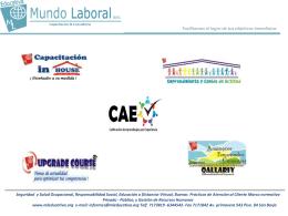 Diapositiva 1 - Mundo Laboral