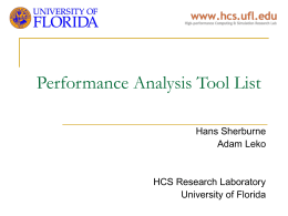 SANgroup - UF HCS Research Laboratory