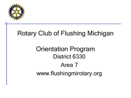 Navigating and Editing the Rotary Website