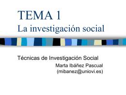 TEMA 1 - Universidad de Oviedo