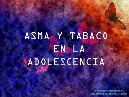 ASMA Y TABACO EN LA ADOLESCENCIA
