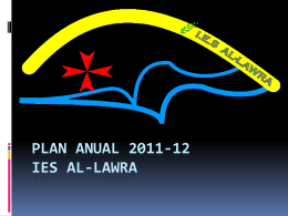 Plan anual 2011-12 ies al
