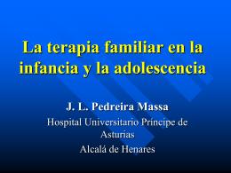 La Psicoterapia en la infancia y la adolescencia