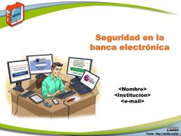 Fasciculo Banca Electronica- Cartilla de Seguridad para