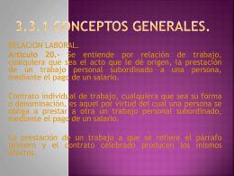 3.3.1 Conceptos generales.