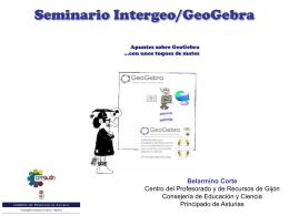 Seminario Intergeo/GeoGebra