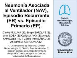 Use of Bronchoscopy to Diagnose Ventilator