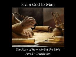 Translation - The Good Teacher