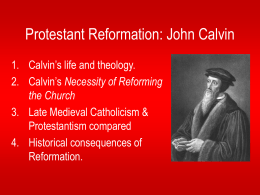Passing the Flame of the Reformation: John Wycliffe …