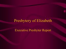 Presbytery of Elizabeth