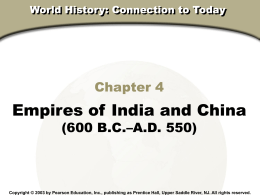 WORLD HISTORY - Fort Bend ISD