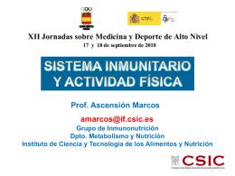NEUROIMMUNOMODULATION BY NUTRITION IN STRESS …