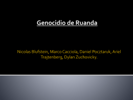 Nicolas Blufstein, Marco Cacciola, Daniel Pocztaruk, Ariel