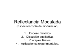 Reflectancia Modulada