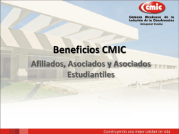 Beneficios CMIC