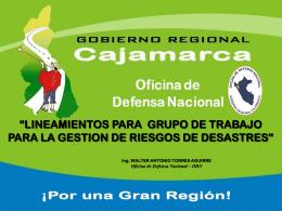 EVALUACION DE RIESGOS HIDROLOGICOS