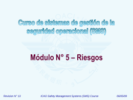 ICAO SMS Module 05