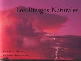 Los Riesgos Naturales.