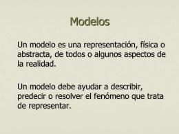 Modelos de comportamiento