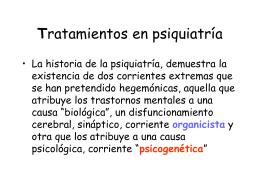 Definiciones de psicoterapia WHO, OMS
