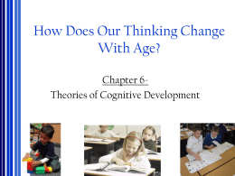 How Do Our Thoughts Change With Age?
