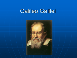 Galileo Galilei - Brigham Young University