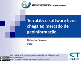 TerraLib: o software livre chega ao mercado de …