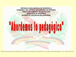 Diapositiva 1 - EDUBOL
