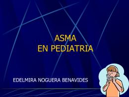 ASMA BRONQUIAL - PEDIATRIA
