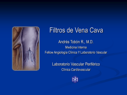 Filtro de Vena Cava - Clinical Trial Results: The