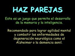 AG2- Haz Parejas